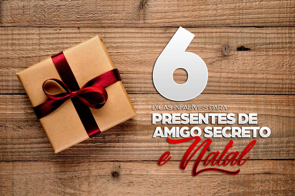 6 dicas de presentes perfeitas para este fim de ano