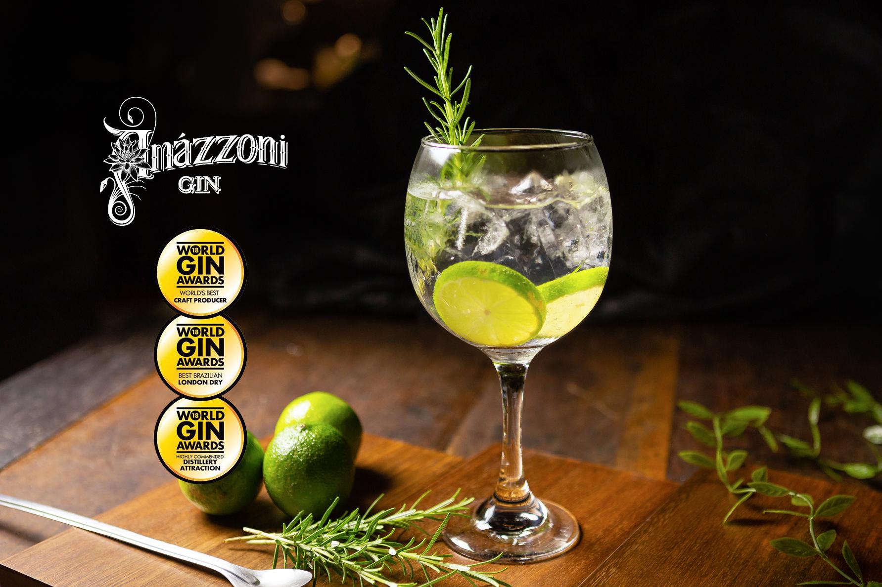 Gin brasileiro é premiado entre os melhores do mundo